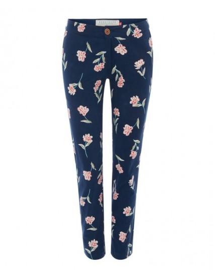 dámské květované kalhoty BRAKEBURN