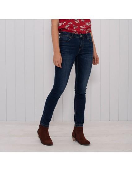 dámské džíny tmavě modré BRAKEBURN