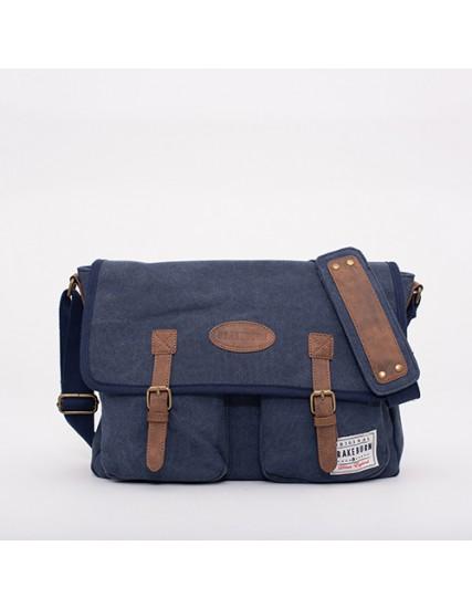pánská taška messenger modrá BRAKEBURN
