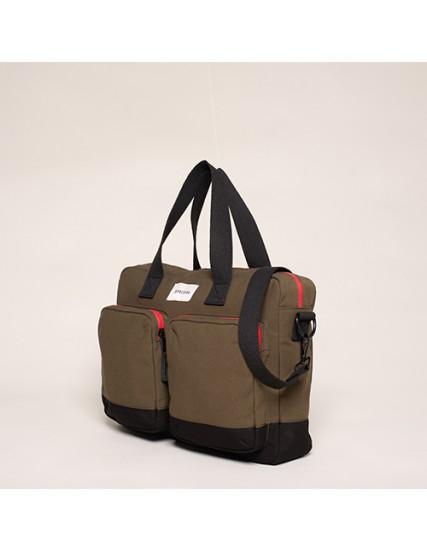 BRAKEBURN POCKET MESSENGER BAG