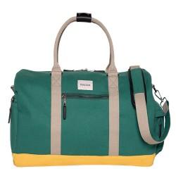 BRAKEBURN GREEN DUFFLE BAG