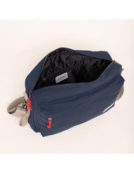 BRAKEBURN NAVY MESSANGER BAG