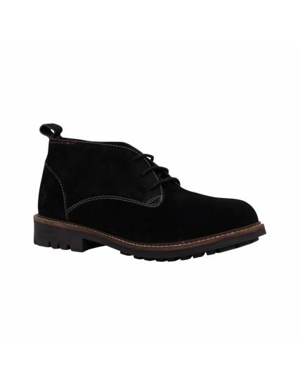 pánské kotníkové černé boty DESERT BRAKEBURN