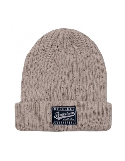 pánská pletená zimní béžová čepice BRAKEBURN