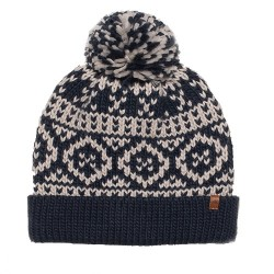BRAKEBURN CHUNKY FAIRILSE KNIT HAT