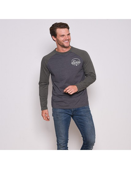 BRAKEBURN RAGLAN LONG SLEEVE TOP
