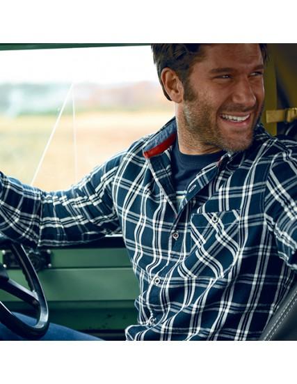 pánská flanelová košile UNBRUSHED BRAKEBURN