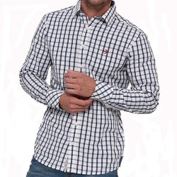 BRAKEBURN SHADOW CHECK L/SLV SHIRT