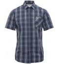 pánská kostkovaná košile s krátkým rukávem BRAKEBURN