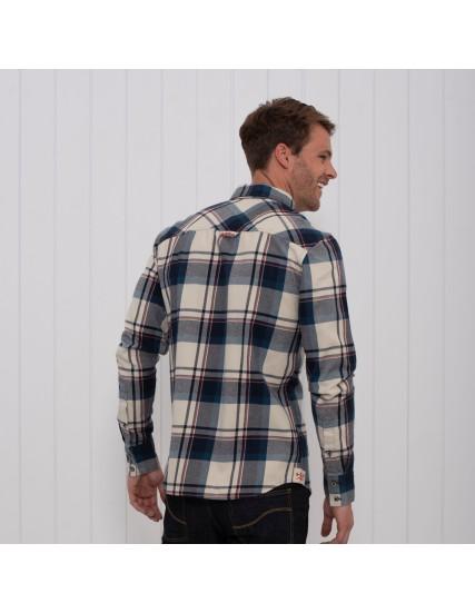 pánská flanelová košile kostka BRAKEBURN