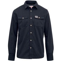 pánská flanelová košile šedá BRAKEBURN