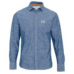 pánská modrá košile dlouhý rukáv BRAKEBURN