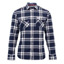 pánská košile kostka FLANNEL BRAKEBURN