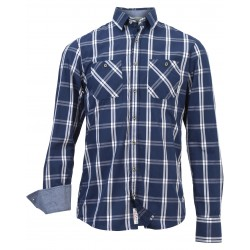 BRAKEBURN YARN DYED CHECK SHIRT