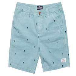 BRAKEBURN EMBROIDERED CHINO SHORTS