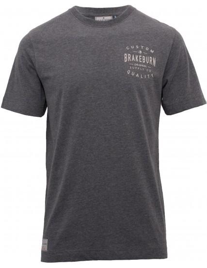 pánské tričko šedé CUSTOM s kapsou BRAKEBURN