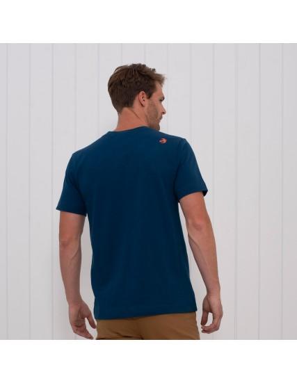 pánské tričko s motivem kola modré BRAKEBURN