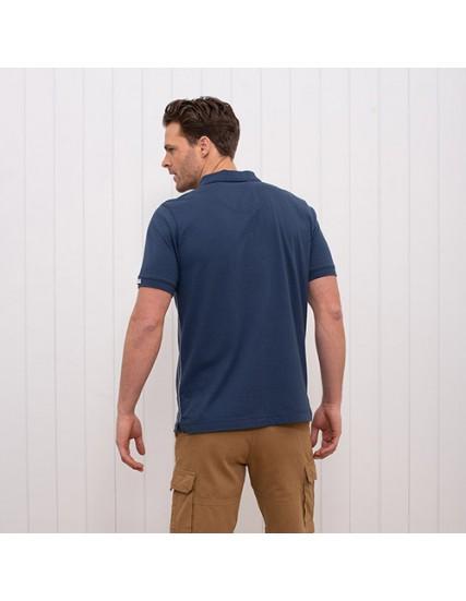 pánské polo triko modré BRAKEBURN