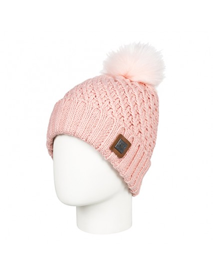 dámská pletená čepice růžová ROXY BLIZZARD BEANIE