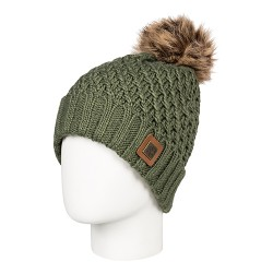 dámská pletená čepice zelená ROXY BLIZZARD BEANIE