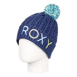 dámská pletená čepice modrá ROXY FJORD BEANIE