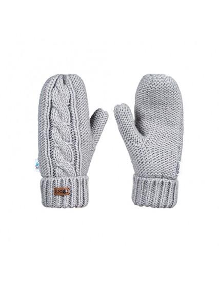 dámské pletené rukavice šedé ROXY WINTER MITTENS