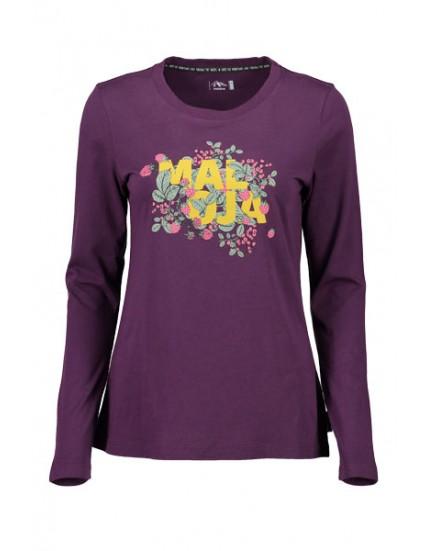 MALOJA TEE L/S HUFLATTICHM dámské triko